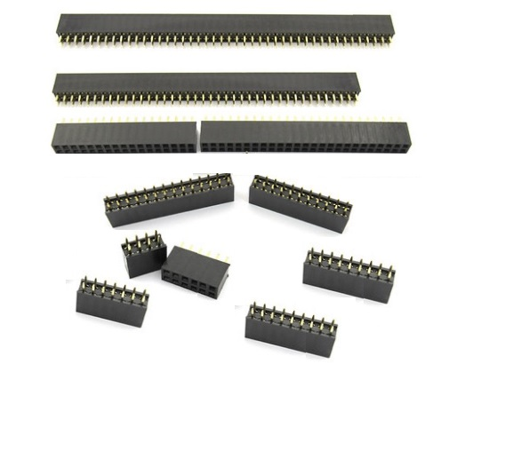 Connectors 100pcs 2x6 P 12 Pin 1.27mm Pitch Pin Header Male Dual Row Male Straight Gold Flash Rohs Reach Double Rows Pitch 1.27 Modern Techniques