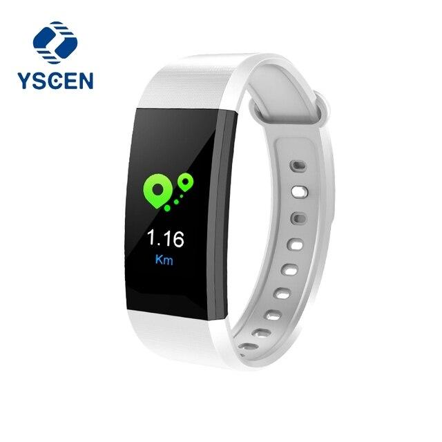 US $35 55 |I9 Sport Smart Bracelet Watch Band Heart Blood Pressure Monitor  Fitness Calorie Wristband waterproof Sleep Tracker Pedometer-in Smart