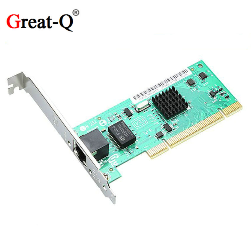 82540 RJ45 PRO/1000 MT Gigabit PCI Diskless RJ-45 Network Card  Ethernet RJ45 LAN WIFI Adapter Converter Adaptator