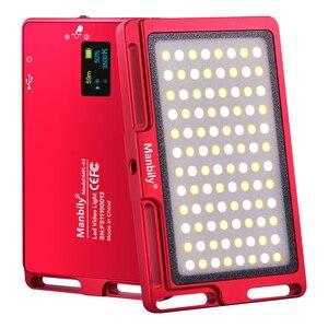 Image 1 - Ультра тонкий портативный светодиодный светильник для фотосъемки, светодиодный светильник с регулируемой яркостью