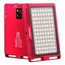 MFL 03 ultra ince taşınabilir LED işık ayarlanabilir parlaklık fotoğraf ışığı
