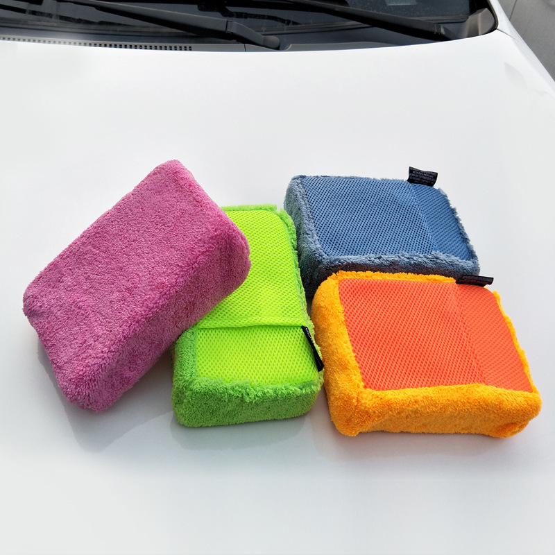 Hight Quality 1 Piece Car Wash Sponge For Car Wash Household Cleaning Test Glass 5 Colours