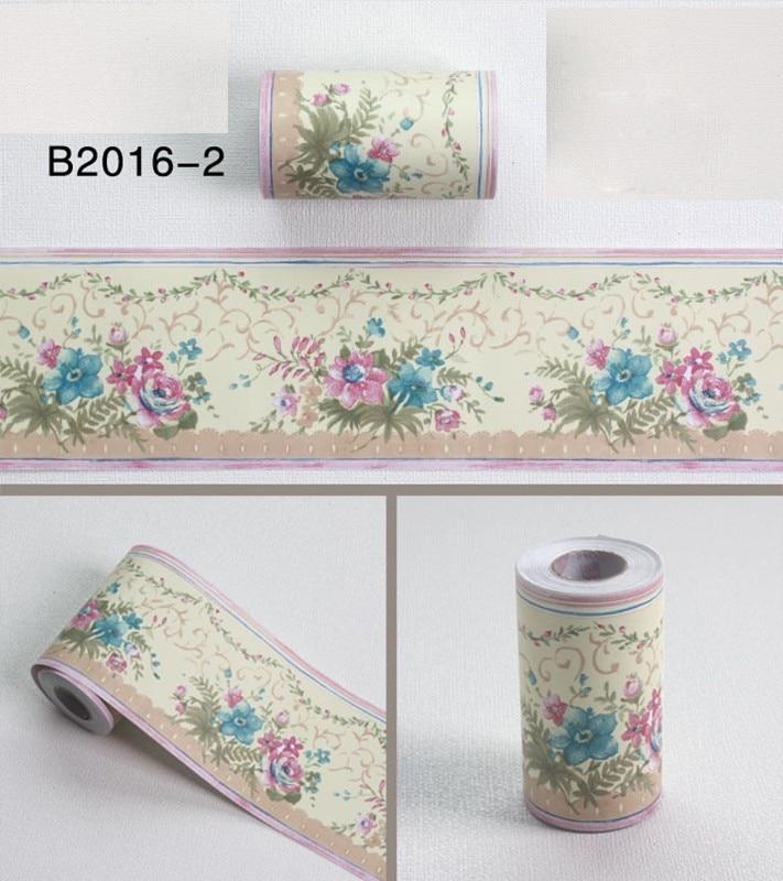 10Mx10CM Waist Line Wall Sticker Kitchen Waistline Bathroom Toilet Waterproof Self Adhesive PVC Wallpaper Border Room