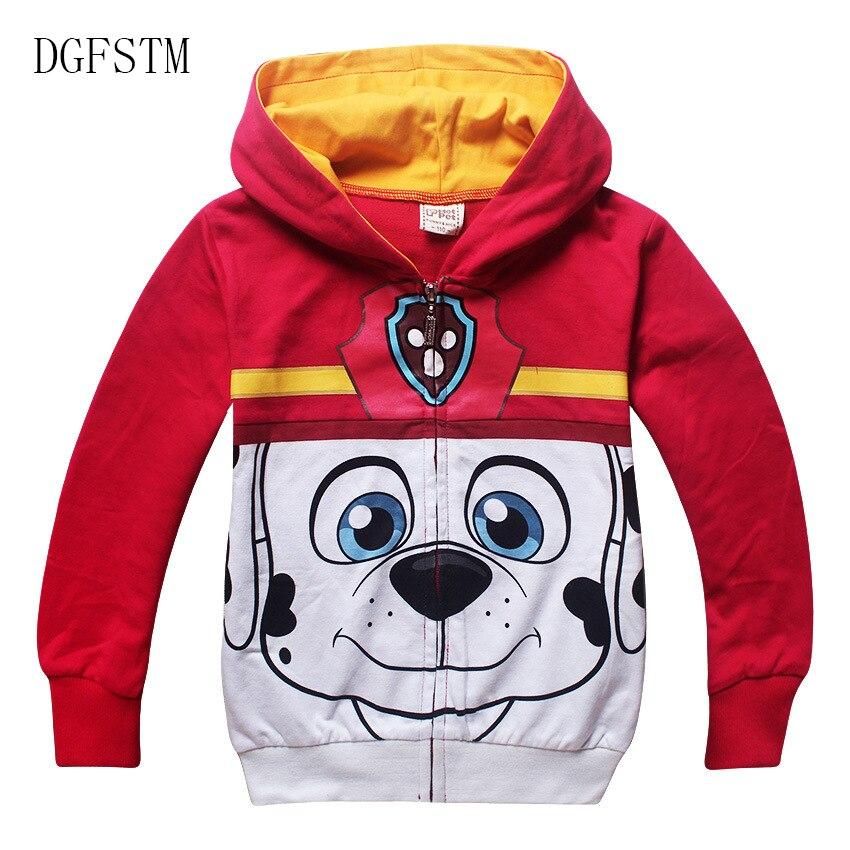 755c12cf1e84 Spring Autumn children coat Boys girl cotton sweatshirt hoodies ...