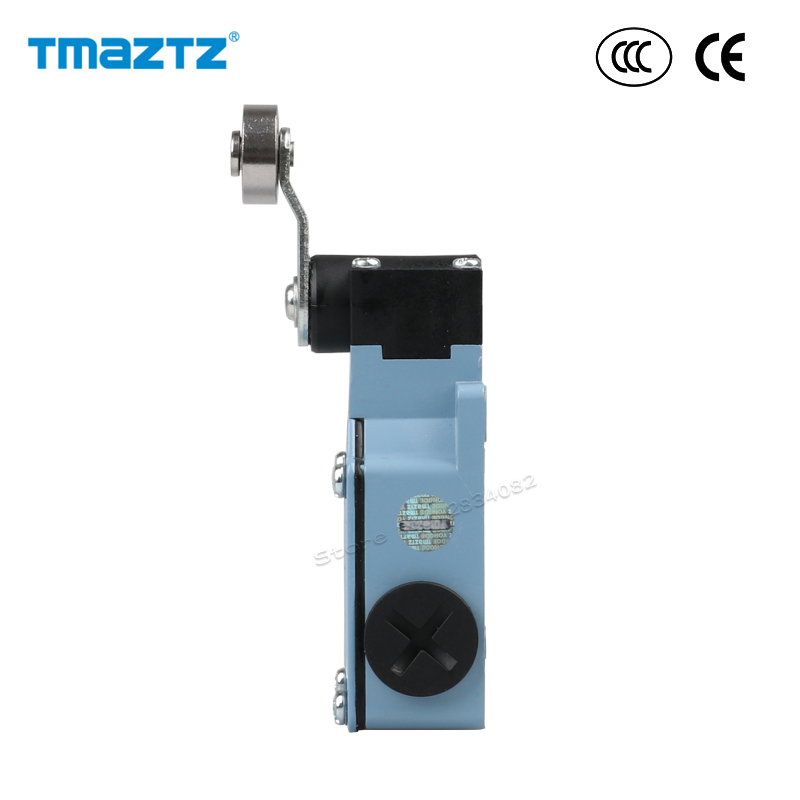 Limit Switch Ac Dc Nonc 380v 10a Stainless Steel Roller Wheel Momentary Metal Travel Switch Ip66 Waterproof Tsa-021 High Quality Switches