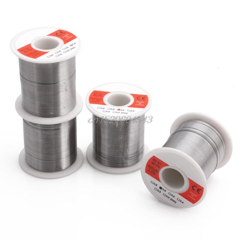 0,3/0,4/0,5/0,6 мм 150 г Олово Свинец Flux 1.2% 60/40 припой сварочная проволока R02 Прямая поставка