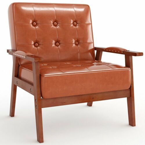 PU Leather Tufted Chair 3