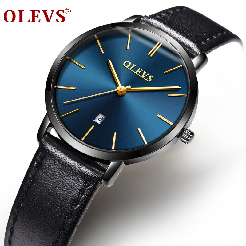 OLEVS Woman Watches Luxury Brand Quartz Watches Ladies Watch Women Fashion Casual Wristwatch Leather Girl Watch Relogio Feminino цена