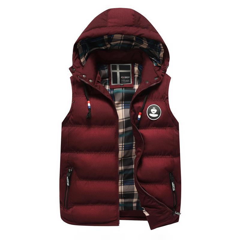 Vest Men Vests With Pockets Traveler Vest Men Sleeveless Casual Mandarin Collar Zipper Male Vest