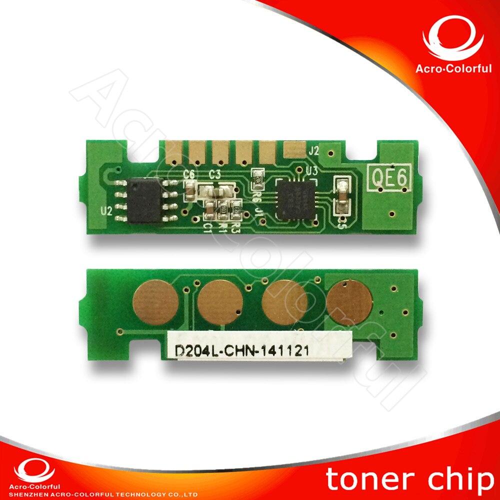 10K mlt d204e Toner Reset Chip for Samsung 204 SL-M3825 4025 M3875 4075  Laser Printer Cartridge Chip Spare Copier Parts chiaro паула 8 411013808