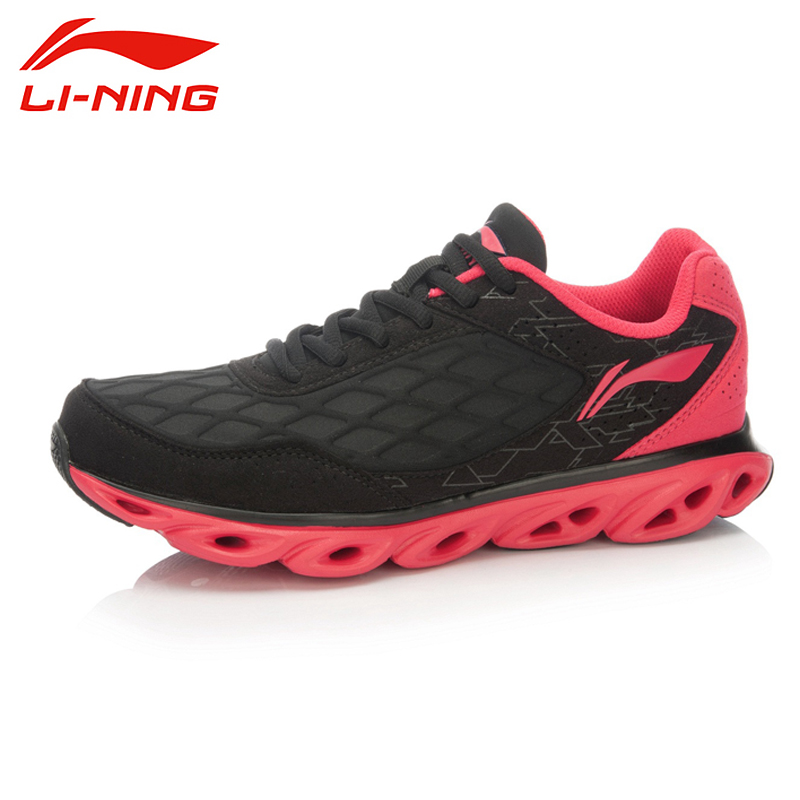 LI-NING Brand Ark Fifth Running Series Women's Cushioning Running Sports Shoes Sneakers For Female ARHK058 XYP100 li ning brand men s professional basketball shoes cushioning breathable wade series team 4 sports sneakers lining abam013