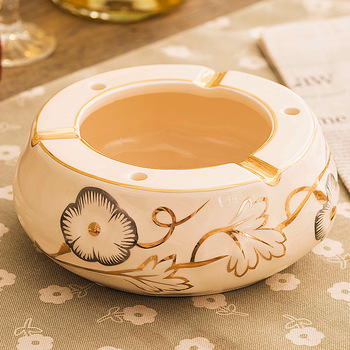 The name of American European Ceramic ashtray pull utility size fashion living room table office decoration