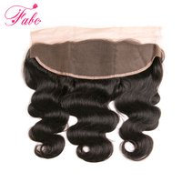 Fabc Hair 13x4 Ear To Ear Lace Frontal 130 Density Natural Color Free Part With Natural