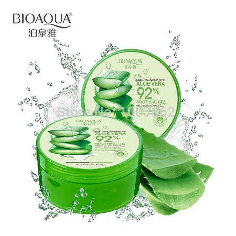 Ageless Mizon Face Cream Bioaqua Facial Treatment Concentrated Aloe Vera Gel 92% Soothing Cream Sun Restoring Moisture Mask