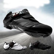купить TIEBAO cycling shoes road sapatilha ciclismo superstar original bike shoes zapatillas ciclismo Self-lock Riding cycling sneakers дешево