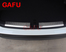 For Suzuki Vitara 2015 2016 2017 Car Rearguards Stainless Steel Rear Bumper Trunk Fender Sill Plate Protector Guard Covers trim цена