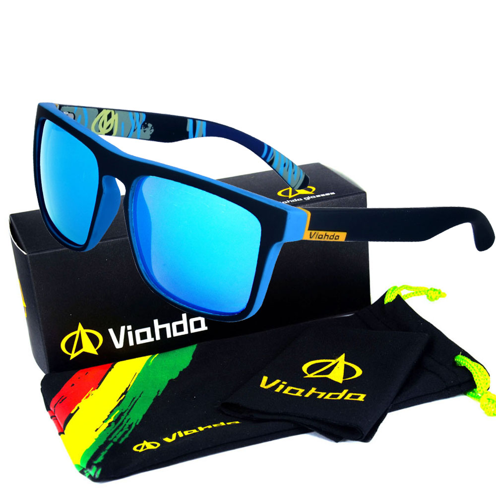 Viahda 2017 Popular Brand font b Sunglasses b font Sport Sun Glasses Fishing Eyeglasses Oculos De