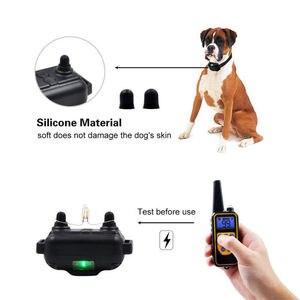 Image 4 - 1000M elektryczne urządzenie do zatrzymywania szczekania dla obroża treningowa dla psa akumulator obroża antyszczekowa pilot pomoce szkoleniowe dla psów