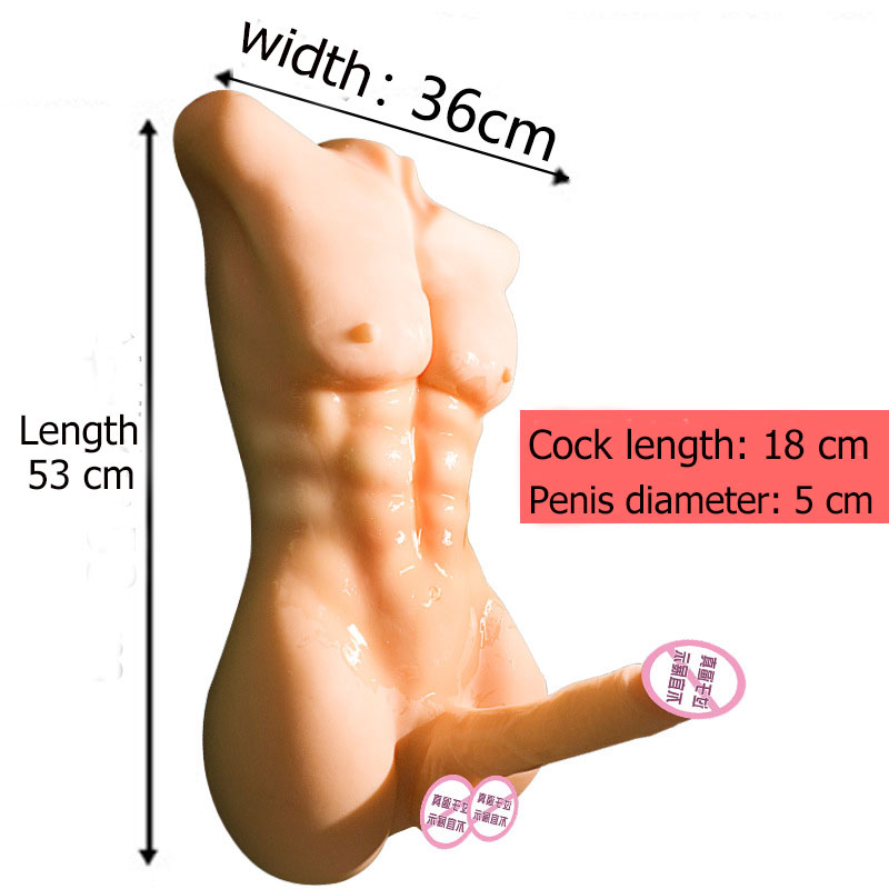 Realistic Male Full Silicone Sex Doll For Women Gay Lesbian Sex