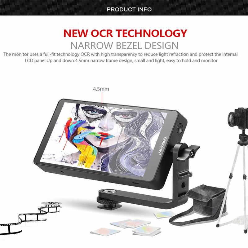 Bestview S5 5 5 inch 4K input narrow screen side monitor for SONY NIKON  CANON DSLR and ZHIYUN Crane 2/DJI RONIN S/MOZA Aircross