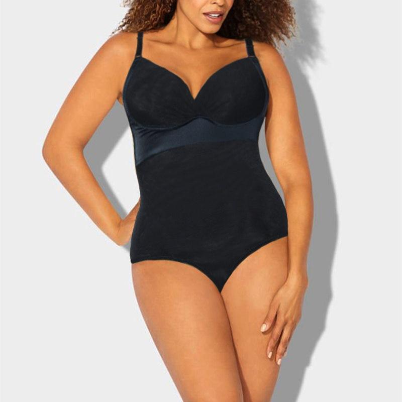 Women Plus Size Body Shaper One Piece Bodysuit Shapewear Lady Push Up Butt Lift 5XL 4XL Lingerie Slim Open Crotch Waist Trainer