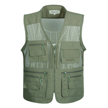 Photographer Sleeveless Men Tactical