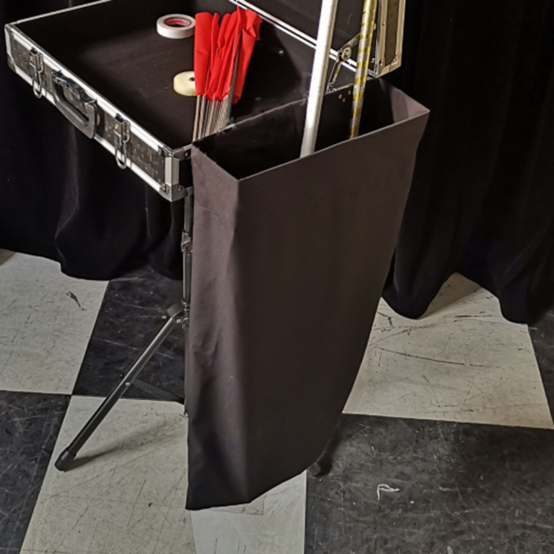 Magician's Hanging Storage Magic Tricks ( 60*32 Cm ) Stage Close Up Accessories Gimmick Flexible Easy To Carry Hold Props In Per