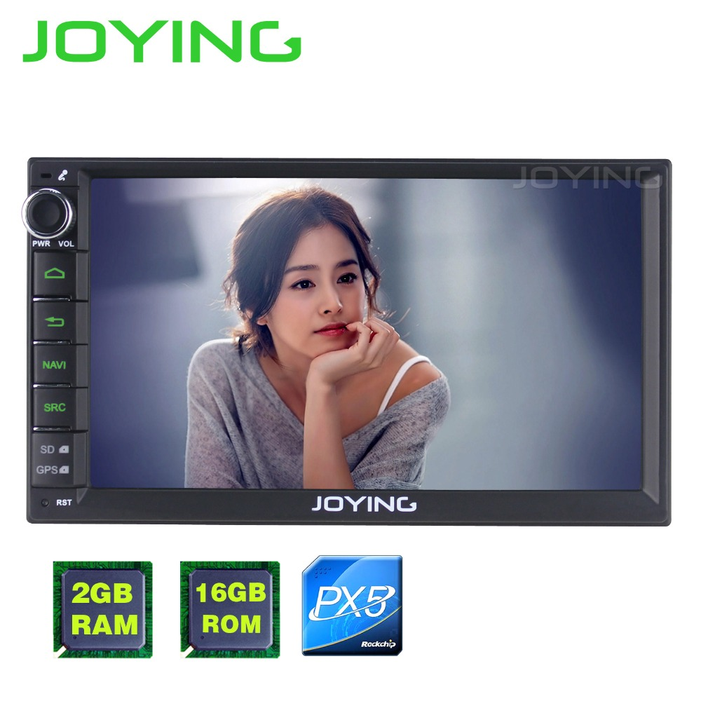 JOYING 7 PX5 Octa Core 2GB 16GB Android 6 0 Universal Car Radio Audio Stereo GPS
