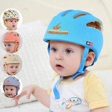 UNIKIDS Защитная шляпа для младенцев, защитный шлем для малышей, хлопок, детская летняя бейсболка, Детские кепки от солнца, одежда для девочек