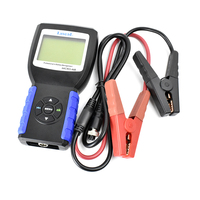 Lancol New MICRO468 For SOH SOC CCA IR Car Battery System Tester For 12v & 24v System Multi language Diagnostic Tool