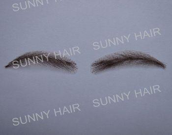 0116 hand made human hair hand knot movie make up  eyebrow