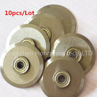 10pcs Lot Broken Blade For H500 Electric Paper Creasing Machine Book Cover Creasing Cutting And Creasing