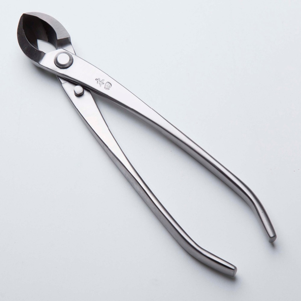 Mu Tian Bonsai Tools Round Edge Cutter Mixed Function Of Round Edge And Straight Edge Intermediate Quality 205 Mm (8