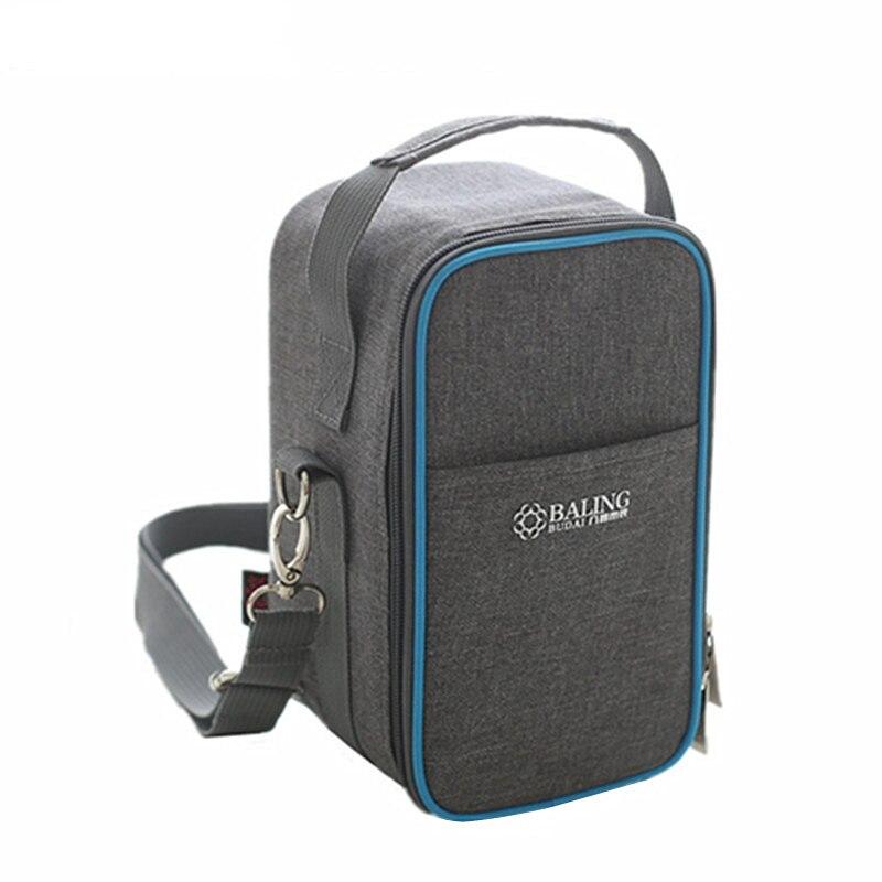 refrigeration ice cooler bags picnic bento box insulated strap shoulder pack drink food lunch. Black Bedroom Furniture Sets. Home Design Ideas