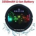 Robot Stofzuiger Nat En Droog Mop, Robot Aspirador Met Water Tank, 3350 MAH lithium Batterij, ultra sonic Sensor, sonic Muur, LCD