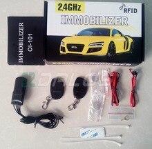 オリジナル包装車イモビライザー、自動車盗難防止システム、車両のセキュリティ対策盗難ロック、ドライバ残し遮断回路
