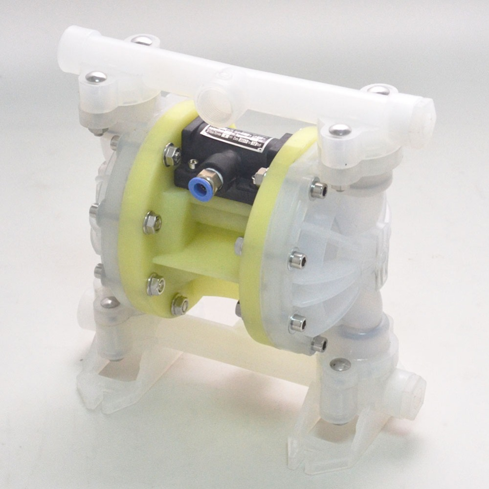 Double Diaphragm Air Pump Chemical Industrial Polypropylene 1/2 or 3/4