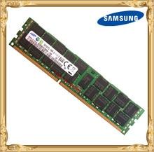 Memória ddr3 do servidor de samsung 16 gb 1333 mhz ecc reg registra dimm PC3L 10600R ram 240pin 10600 16g