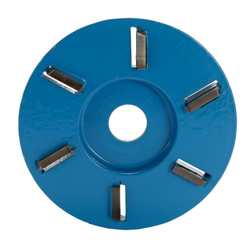 Disco de tallado de madera eléctrico de seis o tres dientes, herramienta de fresado, cortador de disco de tallado Turbo de madera, herramienta de corte para amoladora angular de apertura de 16mm