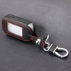Image 5 - Carcasa para mando a distancia de cuero E60 E90, control remoto LCD, transmisor de llavero, para StarLine E60, E90, E63, E93, E95, E66, E96