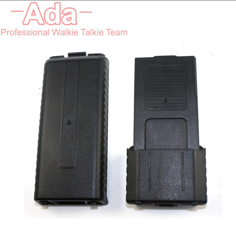 Black 6*AA Battery Case Pack For Baofeng 3800mAh Walkie Talkie UV-5R Plus UV-5RE Plus Two Way Radio UV-8HX TYT