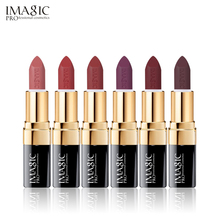 12PCS/LOT IMAGIC New Arrival Lipstick Matte Lips Stick Waterproof Cosmetic Sexy Makeup 12 Colors