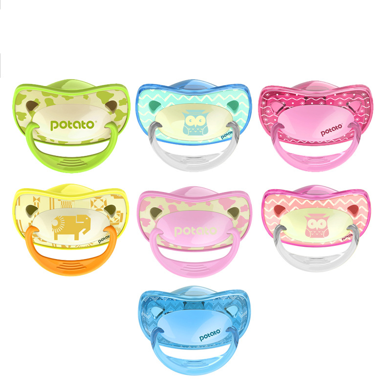 baby silicone bpa free bottle use pacifiers 2 loaded bebe pacifiers Nipples Teether Baby Pacifier Care