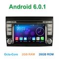 Octa Ядро Android 6.0 Dvd-плеер Автомобиля для Fiat Bravo 2007 2008 2009 2010 2011 2012 с Bluetooth Wi-Fi Радио GPS