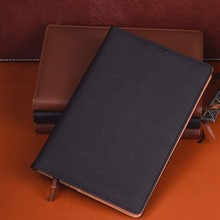Business A5 paperback leather notebook office stationery supplies eye care paper diary