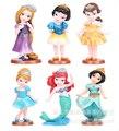 Snow princess mermaid hair doll ornaments Children Toy baby birthday gift Toy