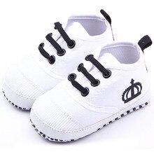 Fashion Canvas Infant Toddler Baby Boys Girls Soft Sole Crib Shoes Sneaker Prewalker