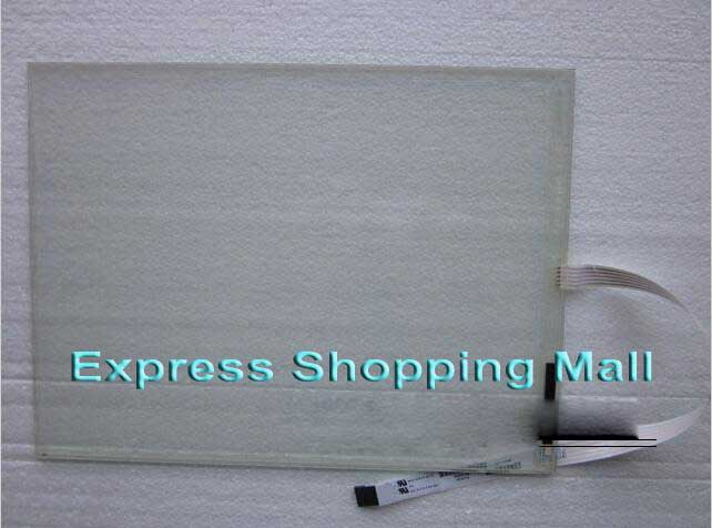 New E458844 12.1 inch 5 wires touch screen glass 5 7 inch 4 wire touch screen glass new