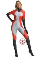 Rena Rouge Ladybug Cat Noir Cosplay Costume 3D Print Spandex Halloween Party Zentai Suit Bodysuit