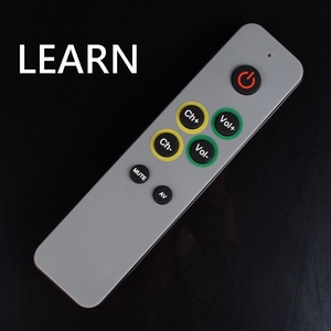 Image 5 - 7 больших кнопок обучения пульт дистанционного управления, дубликат Копировать ИК код от оригинального управления ler remoto TV VCR STB DVD DVB, TV BOX